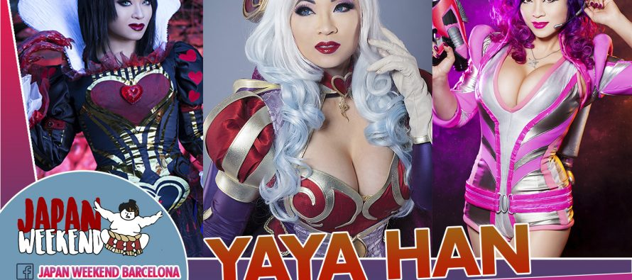 Cosplayers invitados al Japan Weekend Barcelona